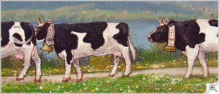 4 vaches et Moléson