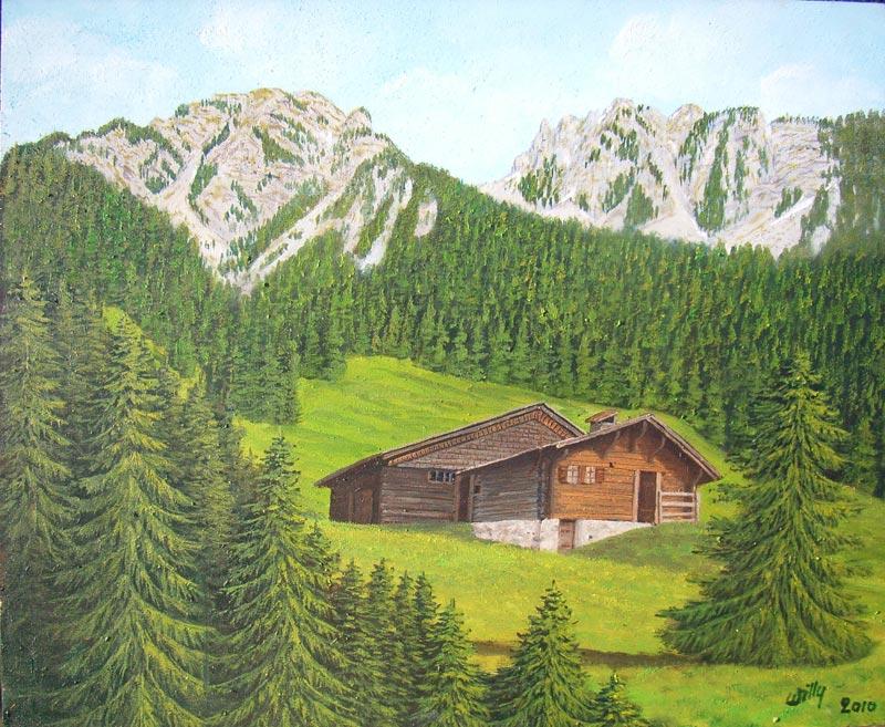 Peinture Pour Chalet Cm Diy D Santa Diamant Peinture Chalet De Jardin De Nol Dcorations Pour La  # Peinture Chalet Bois