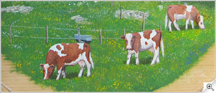 Vaches dans dietzet