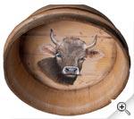Vache dans un dietzet