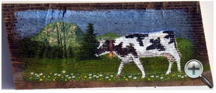 Vache et Moléson