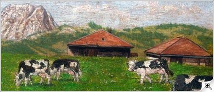 Vaches et Moléson
