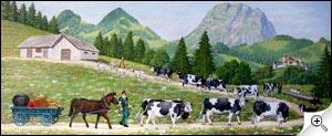 Peinture poya suisse
