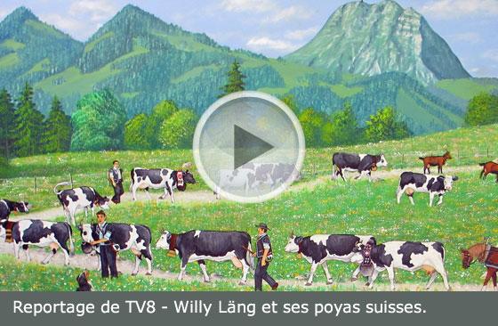 Vidéo des poyas de Willy Läng