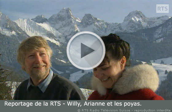 Vidéo de Willy Läng, Arianne Freudiger et les poyas