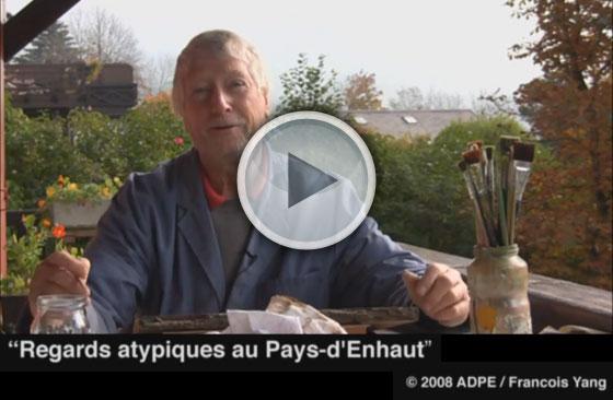 Vidéo de Willy Läng peintre de poyas